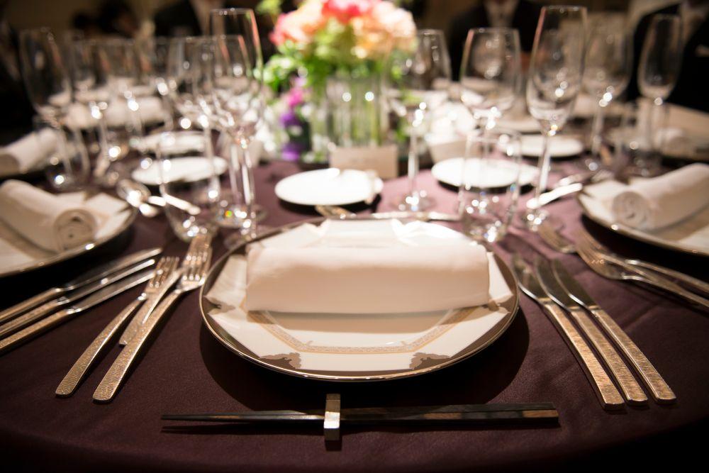 押さえておきたい結婚式のテーブルマナーについて徹底解説します