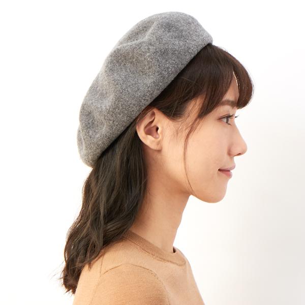 ベレー帽 かぶり方 前髪なし ショート