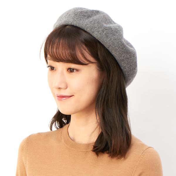 方 かぶり ベレー 帽