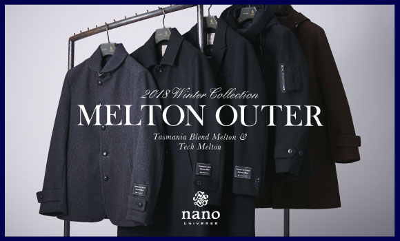 vol190 2018Winter Collection-MELTON OUTER- by ナノ・ユニバース