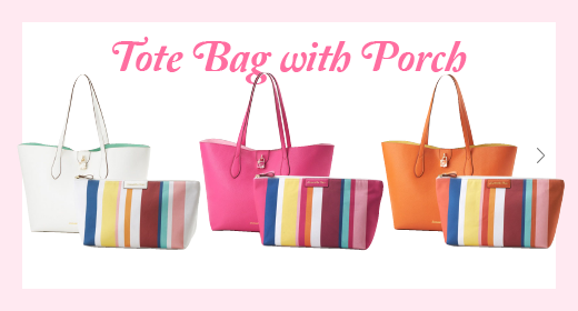 Tote Bag with Porch