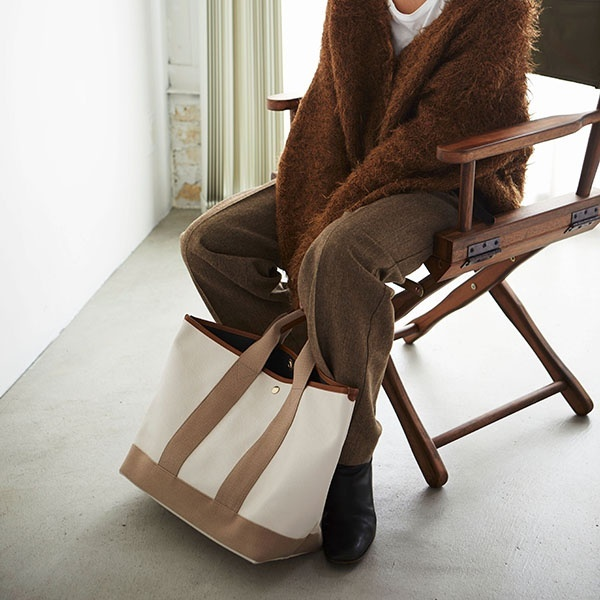 [マルイ] 【雑誌掲載】スコッチグレインネオレザー・A4トートバッグ/トプカピ(TOPKAPI)