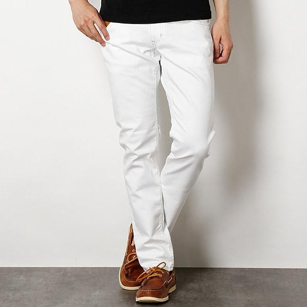 [マルイ]【セール】ホワイトジーンズ/COOL MAX ストレッチデニム/メンズビギ(MEN'S BIGI)