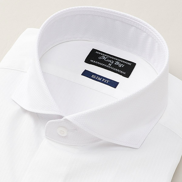[マルイ] スリムフィット ビジネスシャツ/ワイシャツ(ストライプ柄)/メンズビギ(MEN'S BIGI)