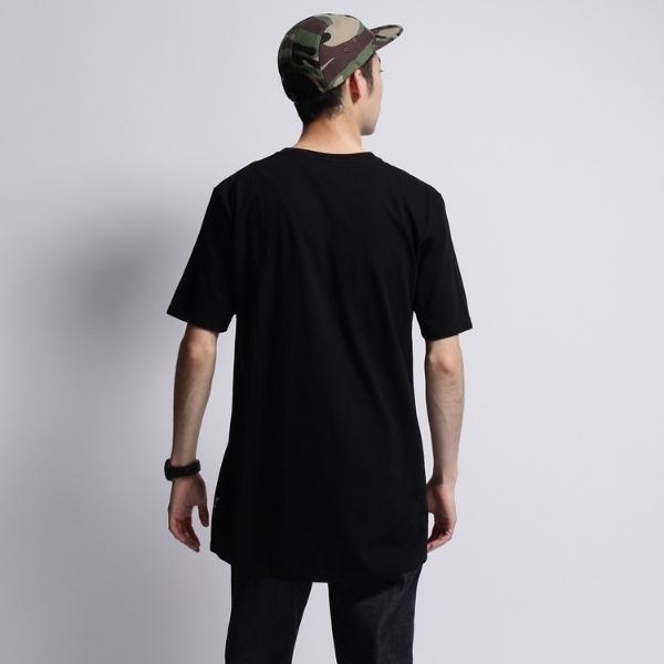 ■【JAPAN MADE】30コットンロングシルエットT-シャツ