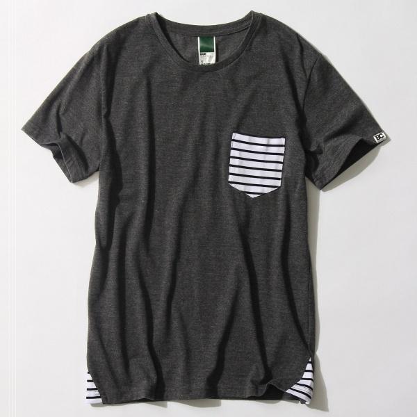 [マルイ] 【ユニセックス】ポケットボーダー T-シャツ/ベース ステーション(メンズ)