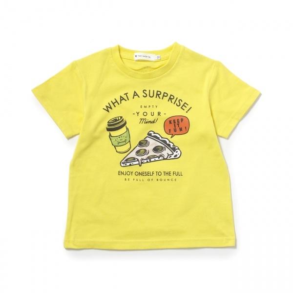 [マルイ]【セール】ピザコーヒープリントTシャツ/ザ ショップ ティーケー(キッズ)(THE SHOP TK Kids)