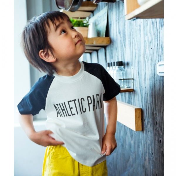 [マルイ]【セール】ラグランスリーブロゴTシャツ/ザ ショップ ティーケー(キッズ)(THE SHOP TK Kids)