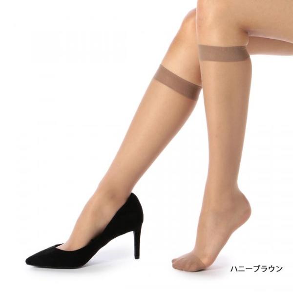 [マルイ] 満足 〈ひざ下丈〉 《伝線しにくい》 ノンラン ストッキング ゆったりサイズ/福助(FUKUSKE)