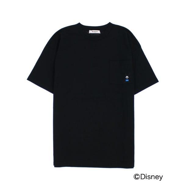 オズワルド メンズ  Tシャツ ラッキーラビット エンブロ ポケットT ディズニー/モルガンオム /MORGAN HOMME コラボ / おしゃれ プレゼント ギフト