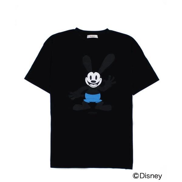 メンズ Tシャツ オズワルド ラッキーラビットT/ モルガンオム MORGAN HOMME /ディズニー, おしゃれ プレゼント ギフト