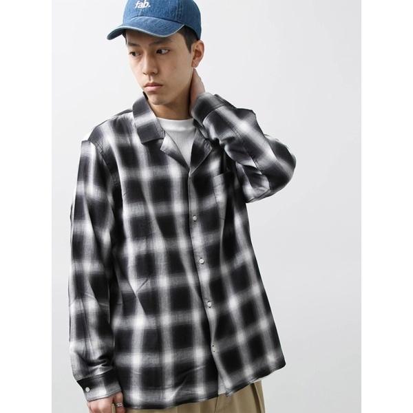 [マルイ]【セール】ウィゴー(WEGO/オンブレチェックオープンカラーシャツ)/ウィゴー(メンズ)(WEGO)