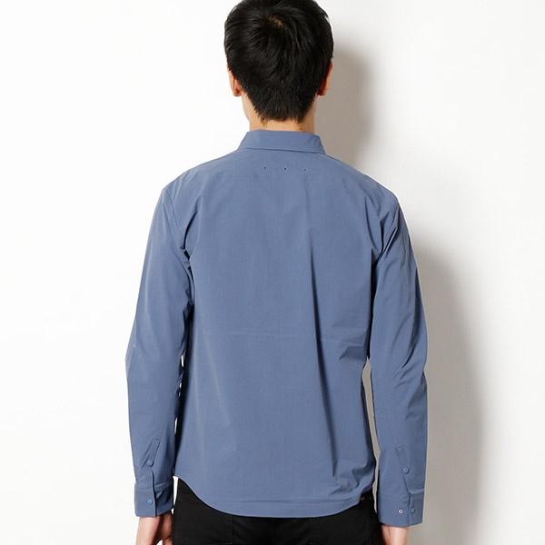 【THE NORTH FACE】UVカット機能付き!ストレッチシャツ(メンズ SOMテックシャツ)