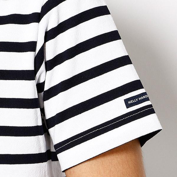 【HELLY HANSEN】半袖Tシャツ(ユニセックス ショートスリーブボーダーボートネック)