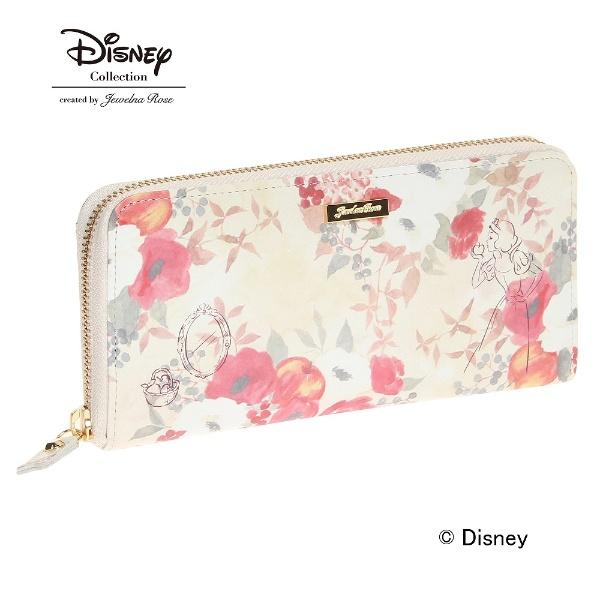 白雪姫 財布 ジュエルナローズ JewelnaRose /Disney ディズニー プリンセス ウォレット ラウンド長財布, おしゃれ かわいい プレゼント ギフト
