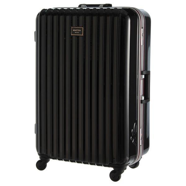 マルイウェブチャネル[マルイ] 静走ラインキャリーバッグ・スーツケース(L)容量約80L 静音/ベネトン レディース(UNITED COLORS OF BENETTON)