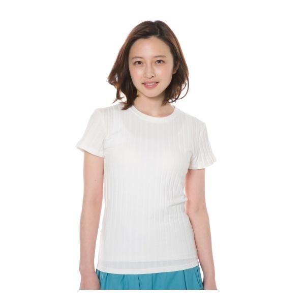 [マルイ]【セール】ワイドテレコTシャツ/アウリィ(AULI)