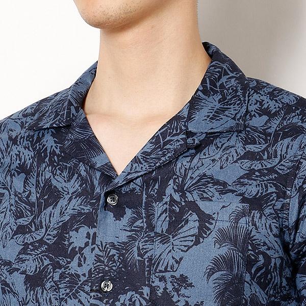 ラミートモチーフリゾートシャツ