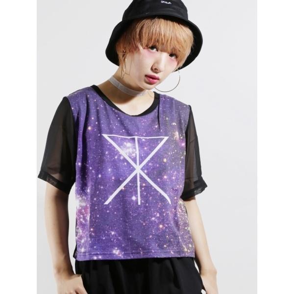 [マルイ]【セール】ウィゴー(WEGO/ギャラクシー5分袖Tシャツ)/ウィゴー(レディース)(WEGO)
