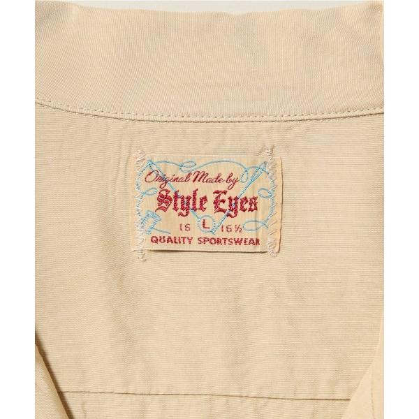 メンズシャツ(Style Eyes L/S RAYON SHIRTS)