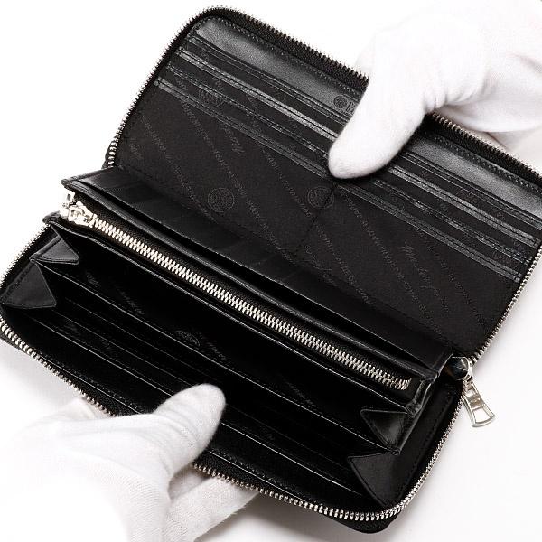 【日本製】noble ラウンド長財布