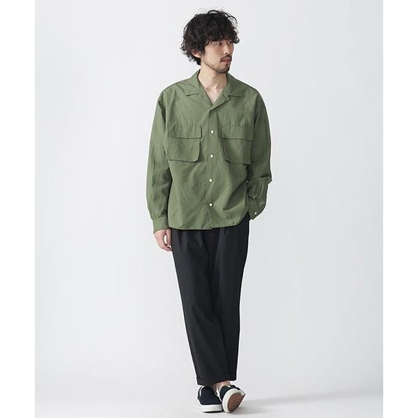 【2017SS】//開襟ミリタリーシャツ