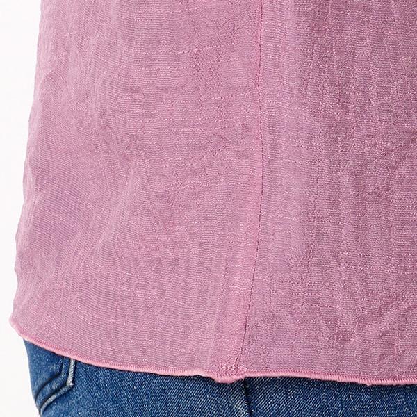 袖刺繍ボヘミアンブラウス