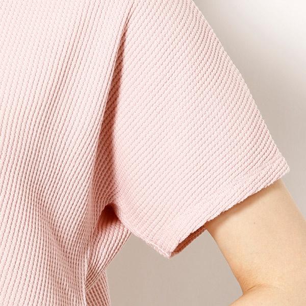 バックレースアップカットオフTシャツ