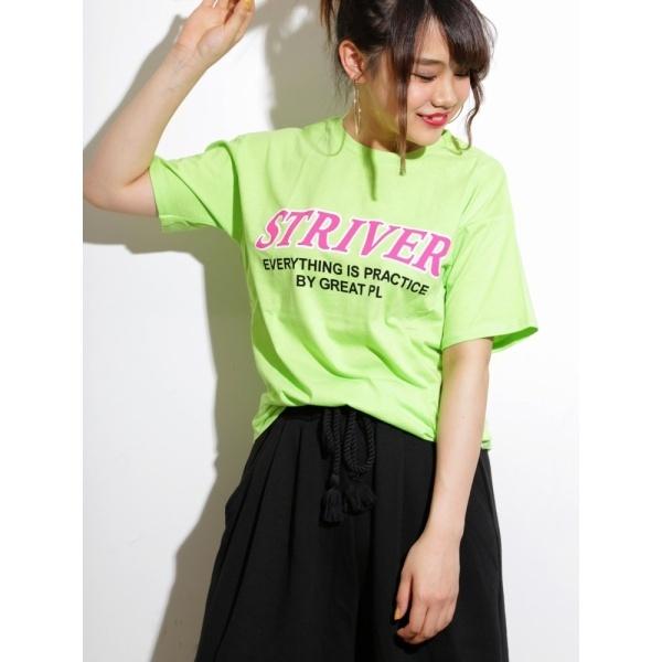 [マルイ]【セール】ウィゴー(WEGO/ネオンカラーロゴプリントTシャツ)/ウィゴー(レディース)(WEGO)