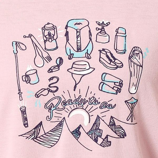 レディースTシャツ(Camp Tools S/S )