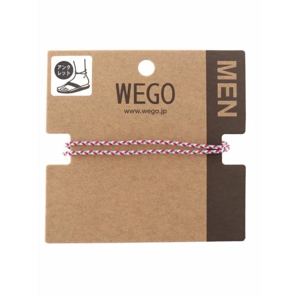 [マルイ] ウィゴー(WEGO/マルチカラーアンクレット)/ウィゴー(メンズ)(WEGO)