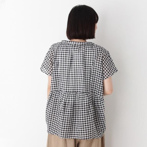 スキッパーコットンシャツ
