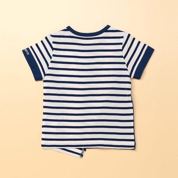 斜めボーダーTシャツ