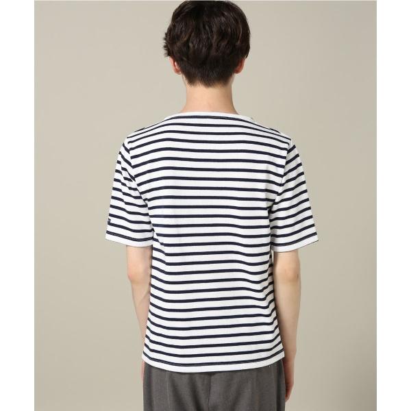 メンズTシャツ(SAINT JAMES / セントジェームス : OUSSANT S/S STRIPE)