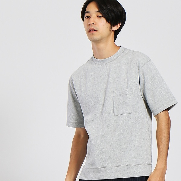 【WEB別注】リップル フォルムポケットTシャツ