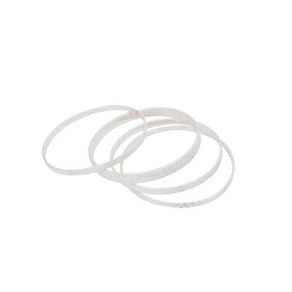 [マルイ]【セール】[4本セット]ナローデザインバングルSET/NEY/ラズレナ(Luz Llena)