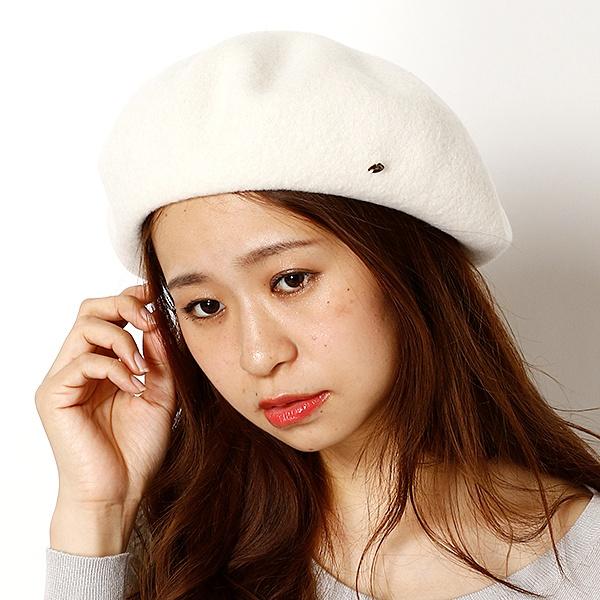 ウールバスクベレー帽