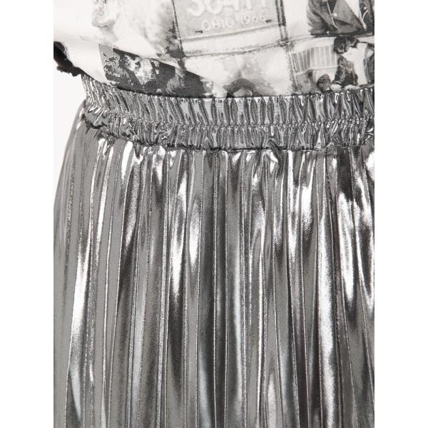 ウィゴー(WEGO/メタリックプリーツスカート)