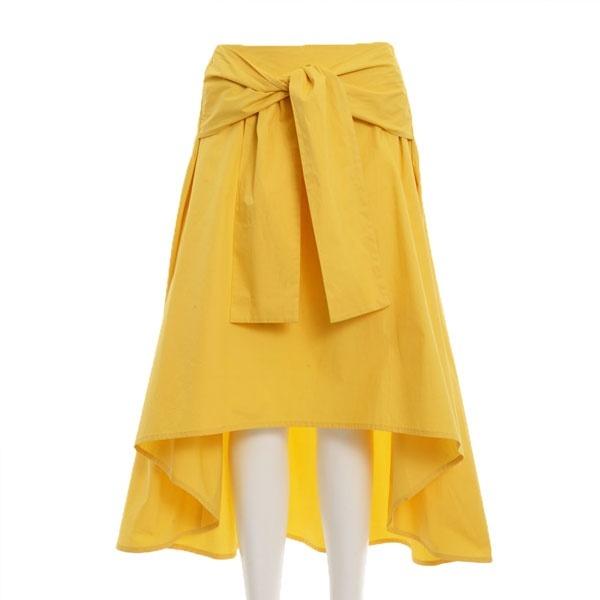 2WAYリボンベルトドレープスカート