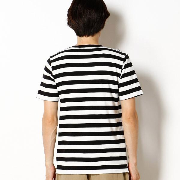 【2017SS】米綿ボーダーVネックTシャツ
