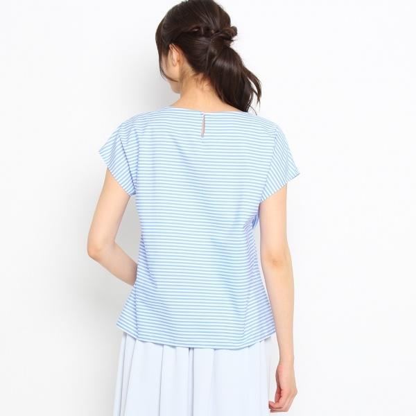 ◆◆〔洗える〕ツイストシャツブラウス