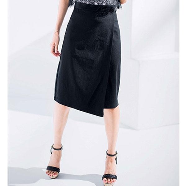 美ラインラップ風ストレッチスカート