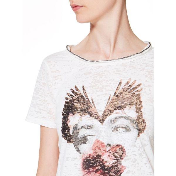 デヴォレプリントジップ半袖Tシャツ・カットソー
