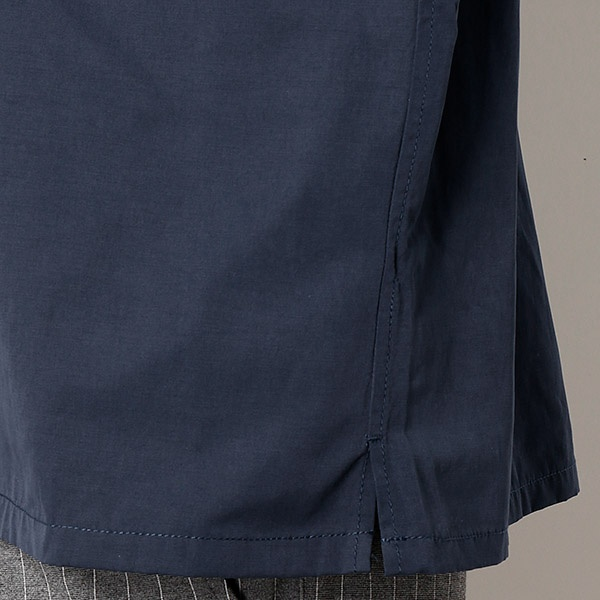 ブロードオープンカラーシャツ(開襟)