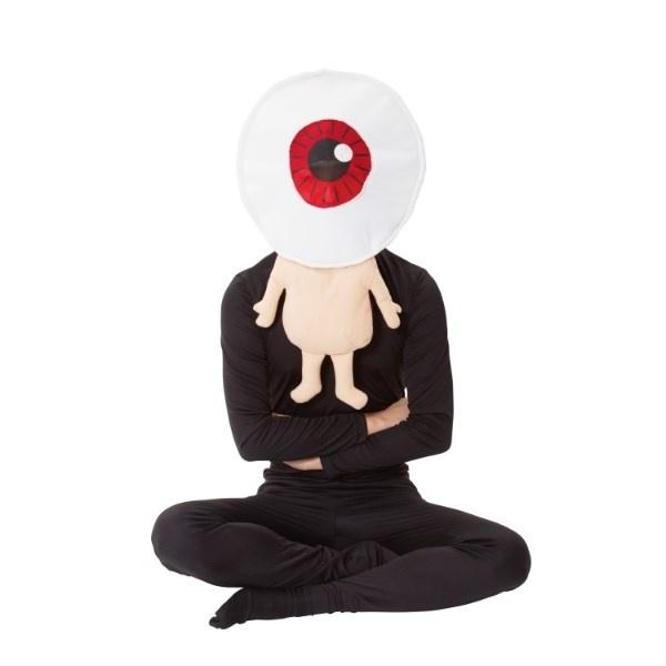 コスプレ・パーティ衣装 ゲゲゲの鬼太郎公式 目玉おやじかぶり/ハロウィン