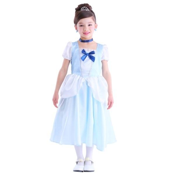 コスプレ・パーティ衣装 ロイヤルブループリンセス 120/ハロウィン