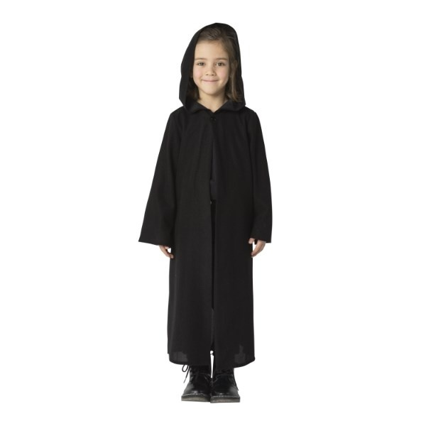 コスプレ・パーティ衣装 ブラックローブ Kids/ハロウィン