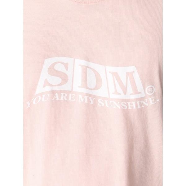 ウィゴー(WEGO|SDMロゴプリントTシャツ)