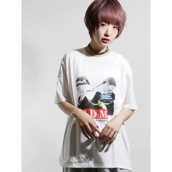 ウィゴー(WEGO|SDMフォトプリントTシャツ)
