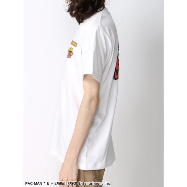 ウィゴー(WEGO|PACMANキャラプリントTシャツ)